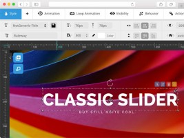 Nouvelle interface Slider Revolution