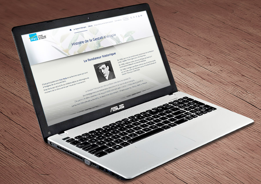 Site Internet de l'IFAS Responsif