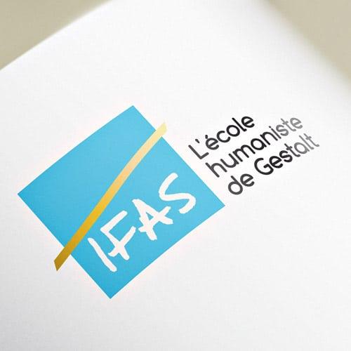 Retouche du logotype de l'IFAS - Gestalt