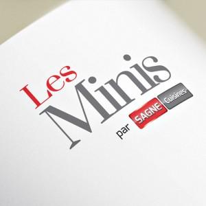 """Logotype """"Les Minis"""" par SAGNE Cuisines"""