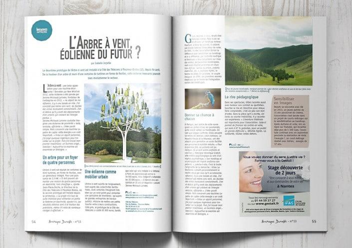 Parution IFAS - Gestalt dans Bretagne durable 2016