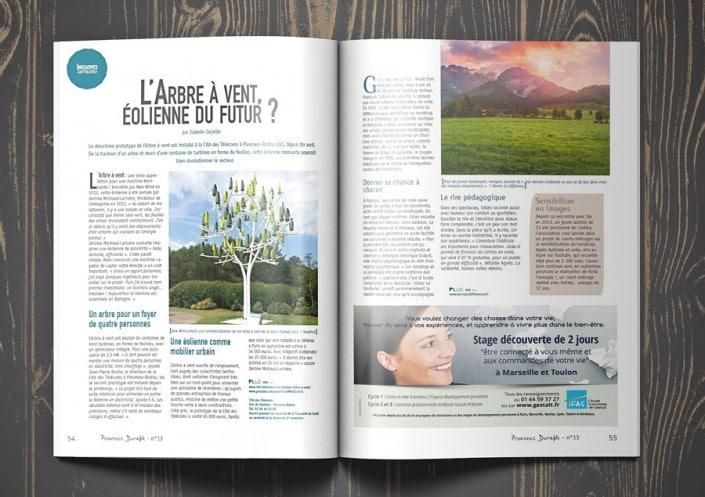 Parution IFAS - Gestalt dans Provence durable 2016