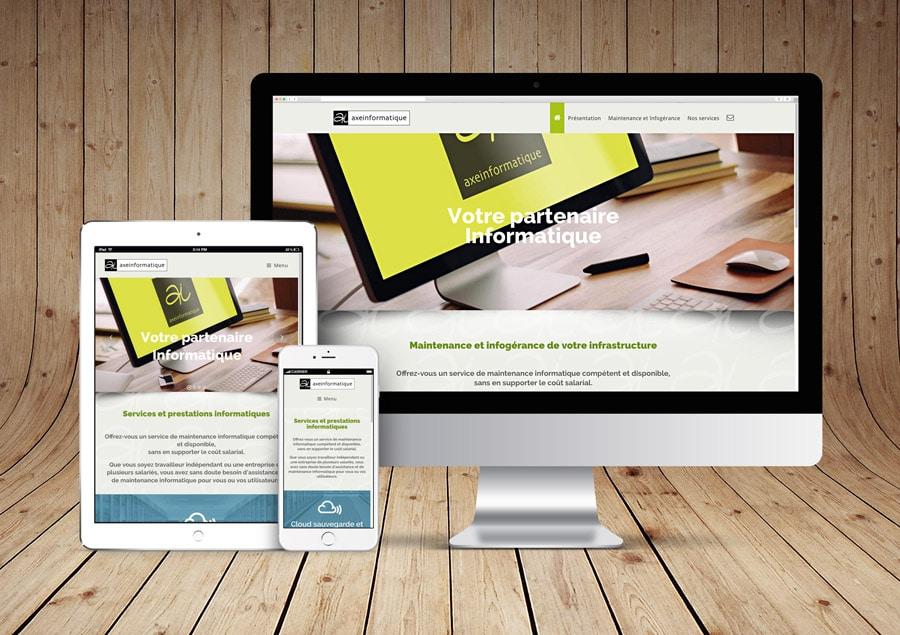 Site Axeinformatique propulsé par WordPress
