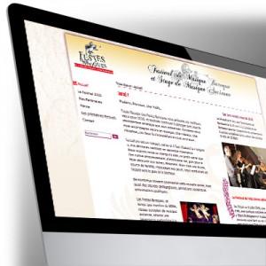 Site Internet des Festes Baroques