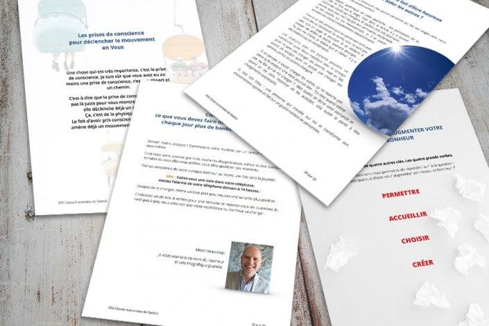 Pages du Livret de formation de l'IFAS Gestalt