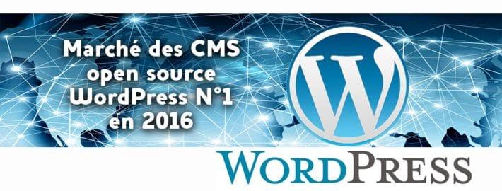 Marché des CMS Open source en 2016