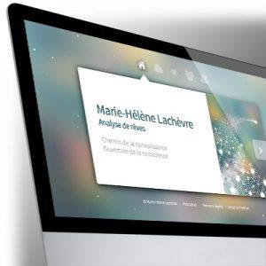 Site Bootstrap Marie-Hélène LACHEVRE