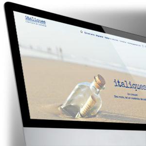 Site Internet Italiques - Valérie Chelle