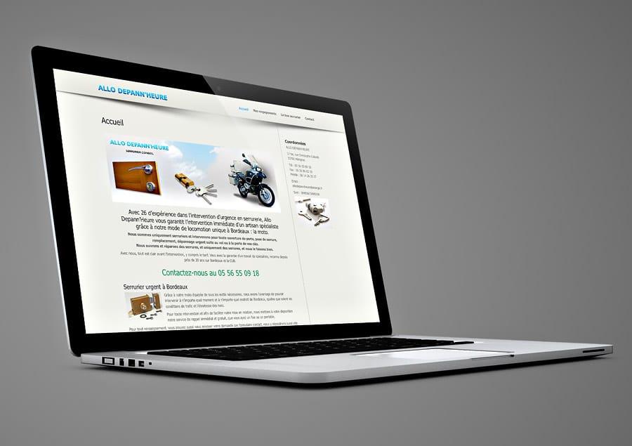 Site Internet Allo Dépann'heure