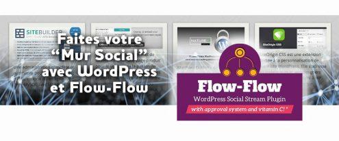 Extension WordPress Flow-Flow Social Stream