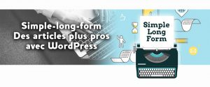 Extension WordPress Simple Long Form