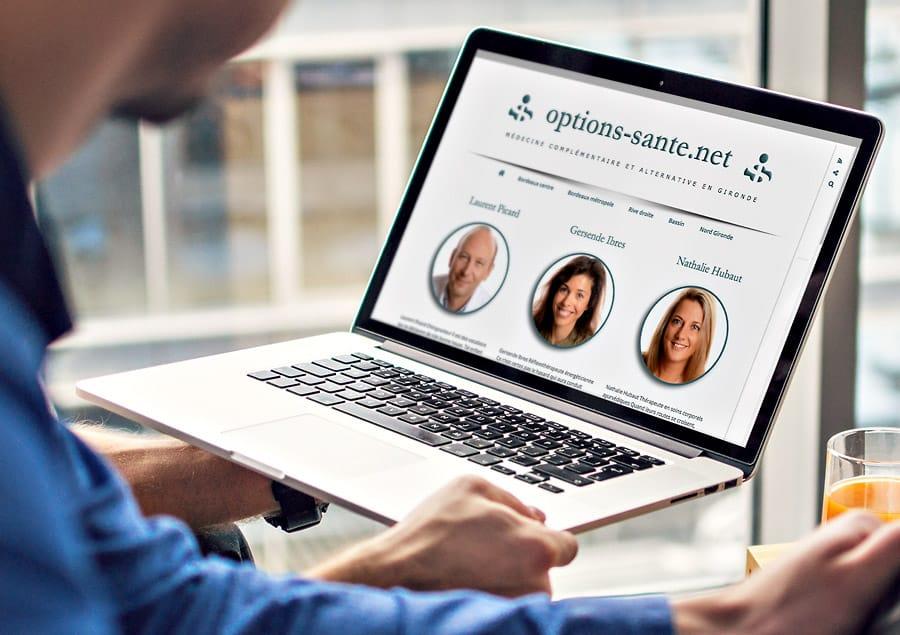 Blog WordPress Options-Santé