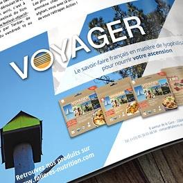 Annonce presse catalogue Vieux Campeur 2017