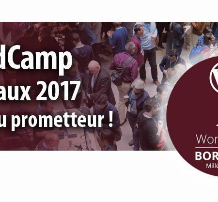 Le WordCamp à Bordeaux en 2017