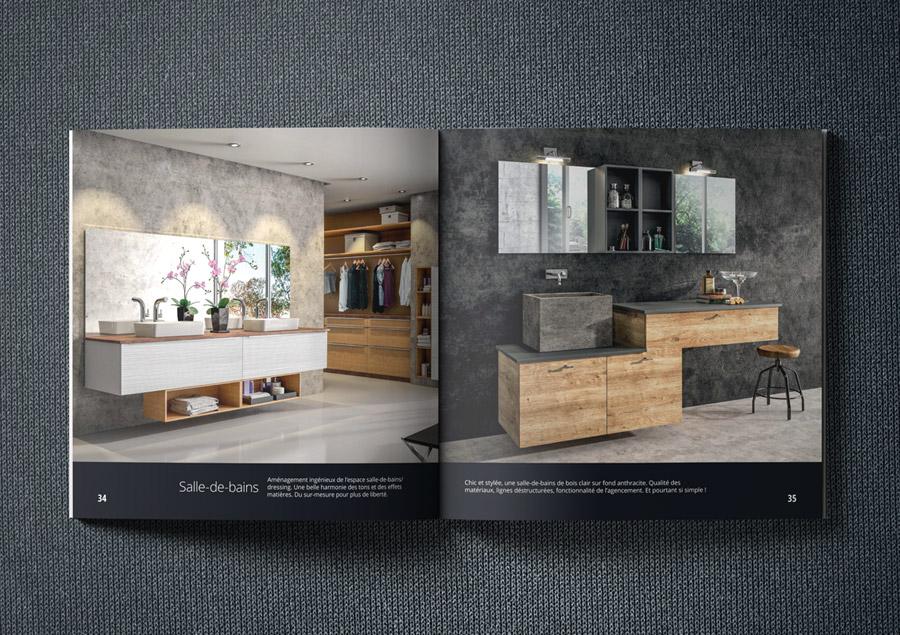 Salle de bains - Catalogue PRONTO Cuisines