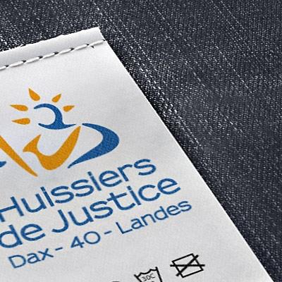 Logotype des Huissiers de Justice à Dax