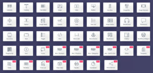 Elementor - Les différents modules