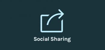 Thème OceanWP - Extension partage social