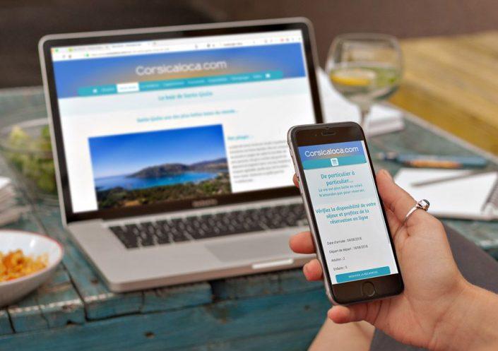 Site WordPress Corsicaloca.com