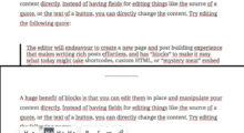 Déplacement de bloc de Gutenberg