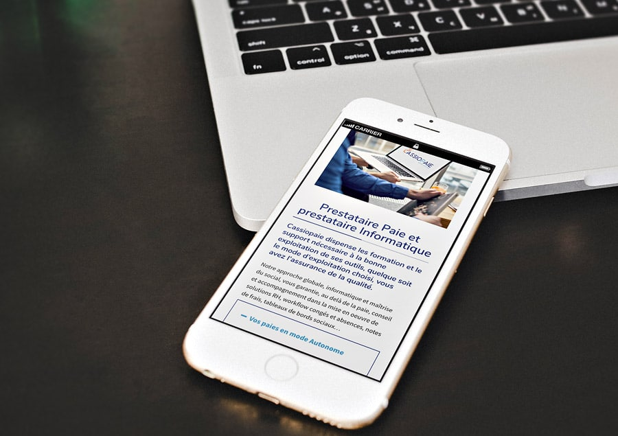 Site Internet Wordpress pour Cassiopaie