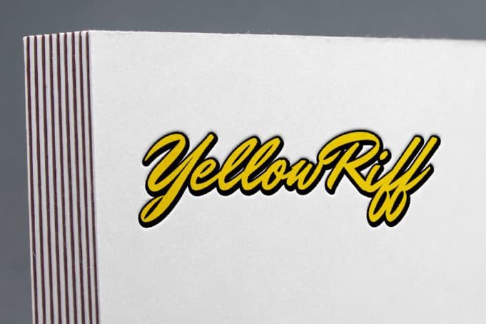 Logotype de l'association Yellow Riff