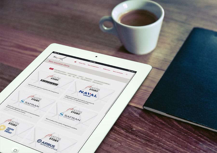 Nouveau site WordPress Mu:SEEK Consulting