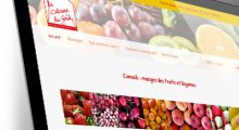 Site WordPress La Cabane du Goût