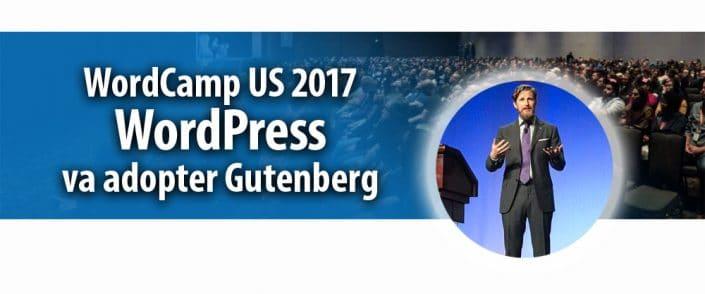 WordPress va adopter Gutenberg