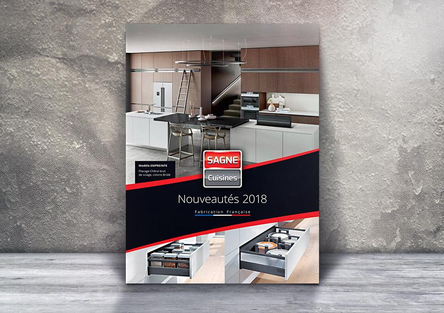 4 volets A4 - SAGNE Cuisines - Nouveautés 2018