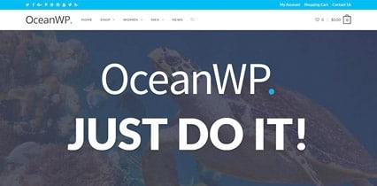 Thème WordPress OceanWP gratuit