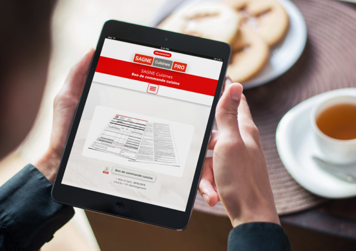 Site Professionnel WordPress - La Cuisine AS
