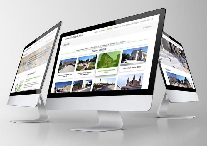 Site WordPress La Manufacture du béton