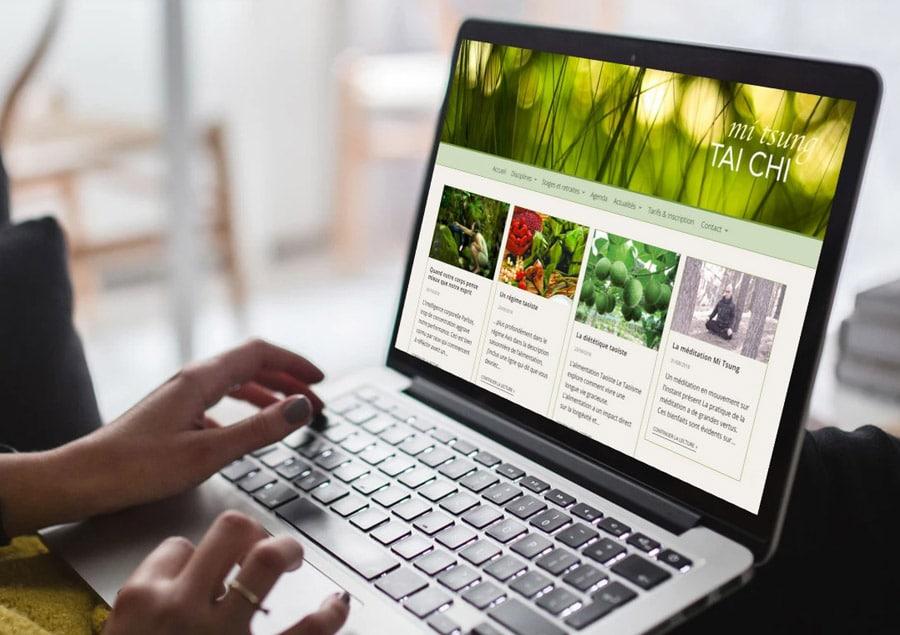 Site WordPress de l'association Tai Chi Bordeaux