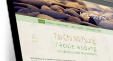 Site WordPress de l'association Tai Chi Bordeaux