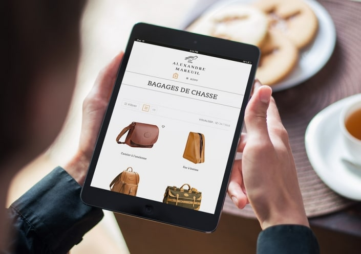 Boutique Woocommerce/WordPress Alexandre Mareuil