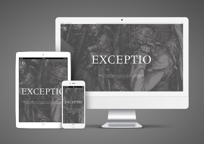 Site WordPress Exceptio