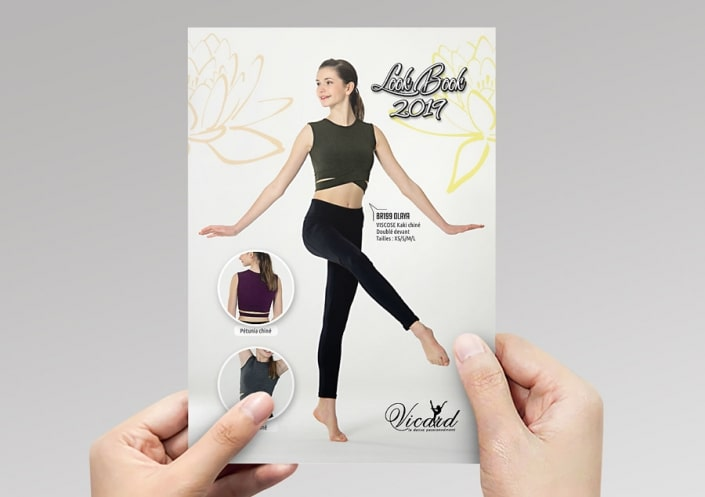 Flyer accordéon 8 volets A5 LookBook 2019 -Vicard