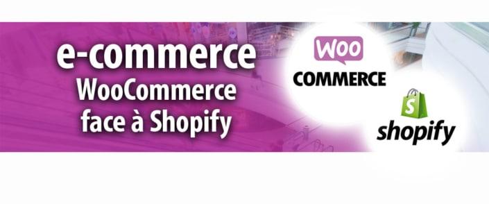2 solutions de e-commerce face à face : WooCommerce et Shopify