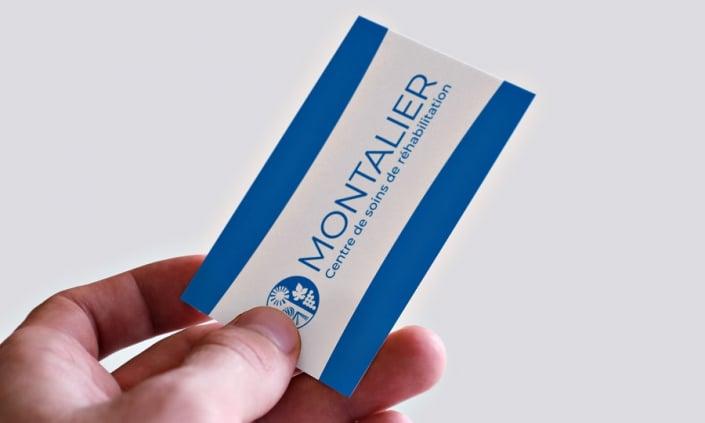 Refonte logotype de l'établissement Montalier
