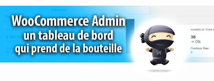 Extension WooCommerce Admin pour WordPress