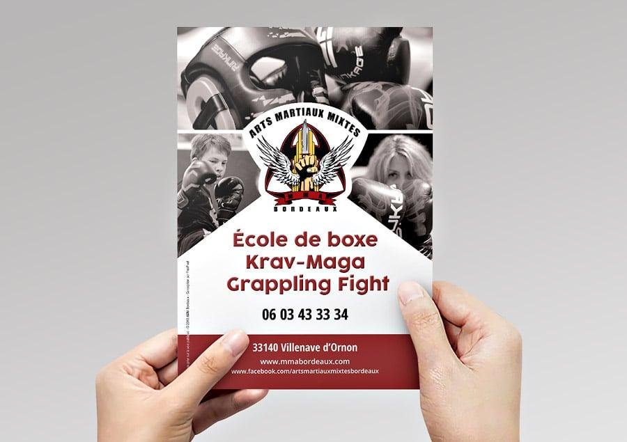 Flyer pour AMM Bordeaux