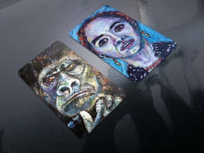 Certes de visite pour Nathalie Poueyto - Artiste