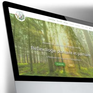 Site WordPress pour Marianne Cougoureux - Réflexologue
