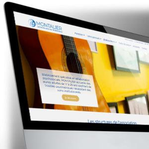 Site WordPress pour l'Établissement Montalier