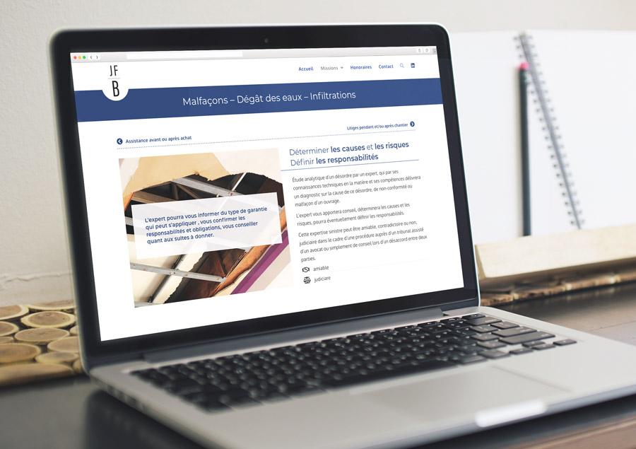 Site WordPress JFB Expertise